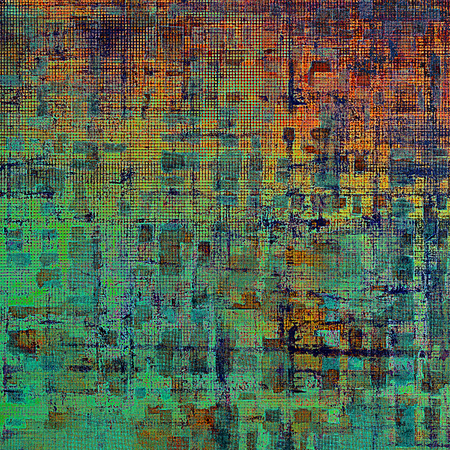 shadowy: Stylish grunge texture, old damaged background. With different color patterns: yellow (beige); green; blue; red (orange); cyan; pink