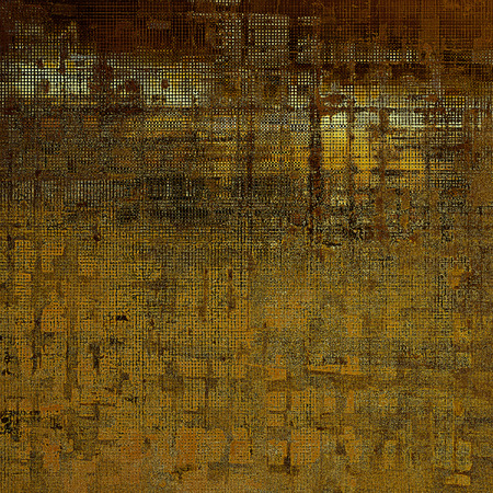 mottled: Vintage mottled frame, textured grunge background with different color patterns: yellow (beige); brown; black; gray
