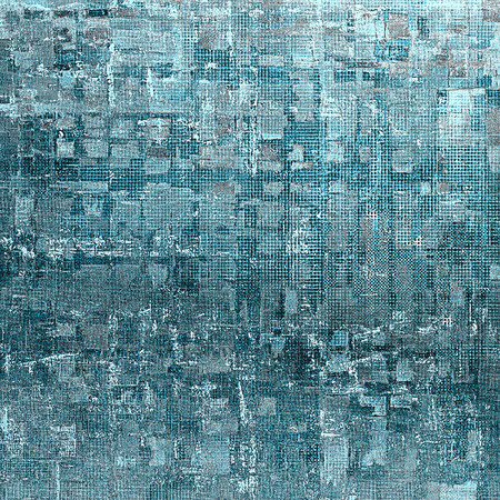 exceptional: Abstract retro design composition. Stylish grunge background or texture with different color patterns: blue; gray; cyan; white Stock Photo