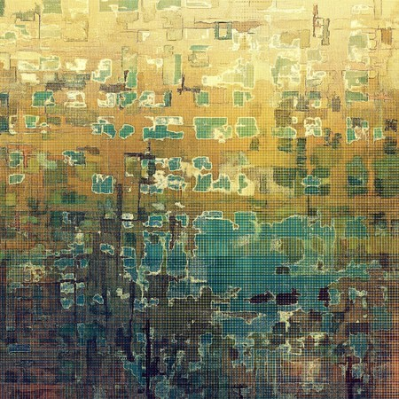 obscure: Abstract vintage colored background. With different color patterns: yellow (beige); brown; green; blue; cyan; gray