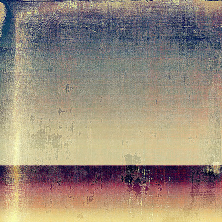 canvas texture: Vintage style shabby texture or background with classy grungy elements and different color patterns: yellow (beige); brown; blue; gray; purple (violet); pink Stock Photo