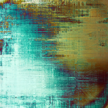 crosshatch: Abstract faded retro background or shabby texture with vintage style design and different color patterns: yellow (beige); brown; blue; cyan; purple (violet); white
