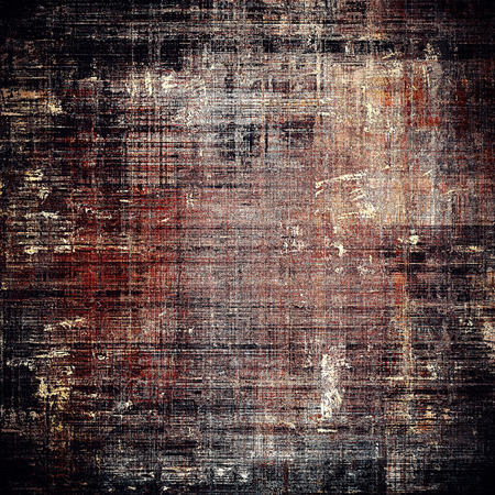 exceptional: Grunge old texture used as abstract vintage style background. With different color patterns: brown; gray; black; red (orange); pink Stock Photo