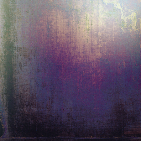 eroded: Grunge old texture used as abstract vintage style background. With different color patterns: brown; black; blue; purple (violet); pink