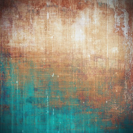 nice looking: Beautiful retro background, nice looking ancient texture with different color patterns: yellow (beige); brown; blue; cyan; red (orange); pink