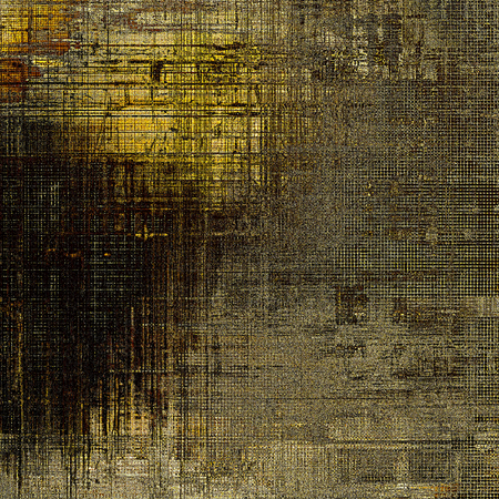 eroded: Vintage design background - Grungy style ancient texture with different color patterns: yellow (beige); brown; gray; black