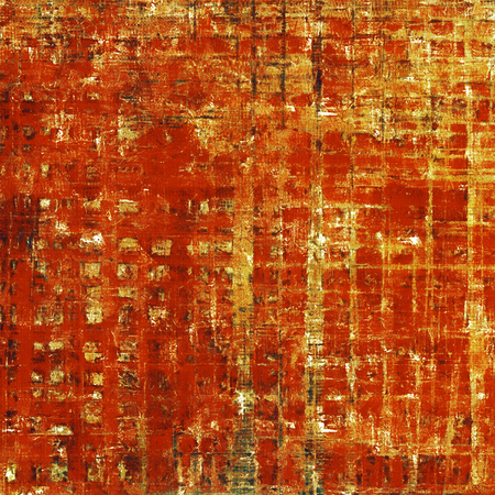 eroded: Stylish grunge texture, old damaged background. With different color patterns: yellow (beige); brown; gray; red (orange)