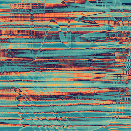 obscure: Vintage texture or antique background with grunge decorative elements and different color patterns: blue; red (orange); purple (violet); cyan; pink Stock Photo