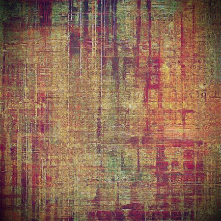 intensity: Abstract grunge background or damaged vintage texture. With different color patterns: yellow (beige); brown; green; red (orange); purple (violet); pink