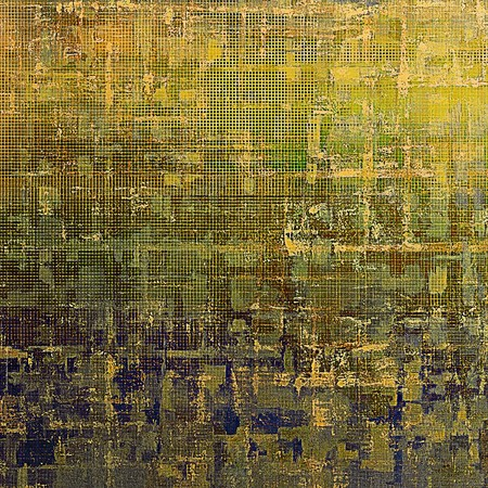 parallel: Vintage ancient background or texture with grunge decor elements and different color patterns: yellow (beige); brown; gray; green; blue