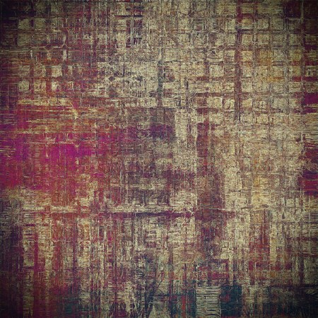res: Hi res grunge texture or retro background. With different color patterns: yellow (beige); brown; gray; black; red (orange); purple (violet) Stock Photo