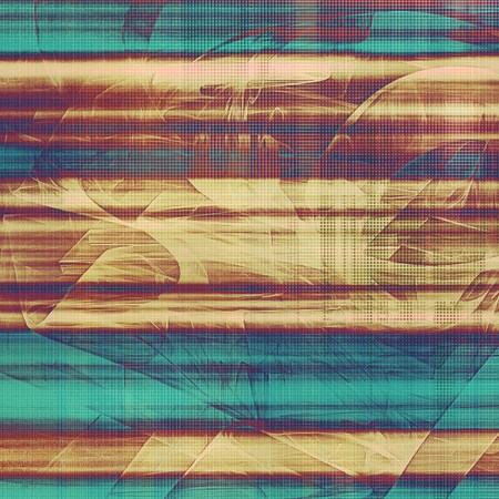 obscure: Abstract faded retro background or shabby texture with vintage style design and different color patterns: yellow (beige); brown; blue; purple (violet); cyan; pink