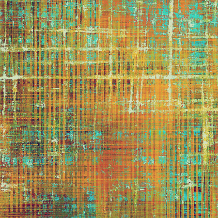 Old crumpled grunge background or ancient texture. With different color patterns: yellow (beige); brown; green; blue; red (orange); pink