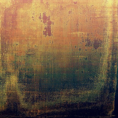 degraded: Art grungy texture, aged background with retro feeling. With different color patterns: yellow (beige); brown; black; green; red (orange); pink