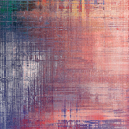mottled: Vintage mottled frame, textured grunge background with different color patterns: yellow (beige); gray; blue; red (orange); purple (violet); pink Stock Photo