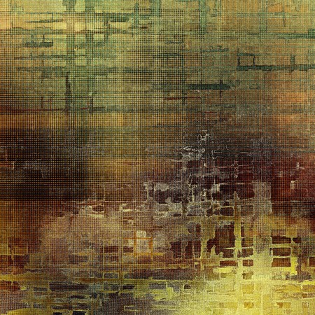 degraded: Abstract vintage colored background. With different color patterns: yellow (beige); brown; gray; green; red (orange) Stock Photo