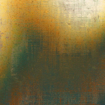 stretched: Grunge colorful texture, aged weathered background with different color patterns: yellow (beige); brown; gray; black; green; red (orange) Stock Photo