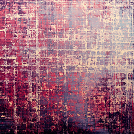 Old, grunge background or damaged texture in retro style. With different color patterns: gray; red (orange); purple (violet); pink