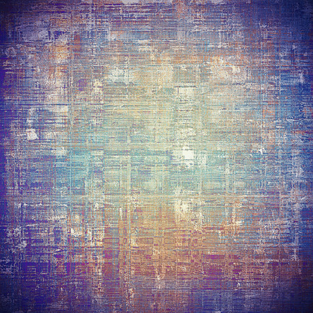 exceptional: Vintage background - dirty ancient texture. Antique grunge backdrop with different color patterns: yellow (beige); gray; blue; purple (violet); cyan
