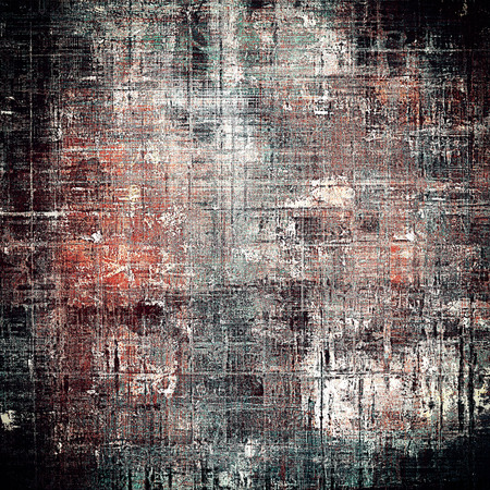 gloomy: Grunge antique frame, vintage style background. With different color patterns: brown; gray; red (orange); black; white