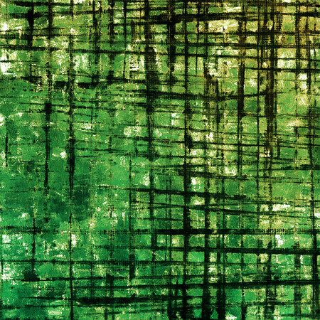 Distressed grunge texture, damaged vintage background with different color patterns: yellow (beige); brown; green; black