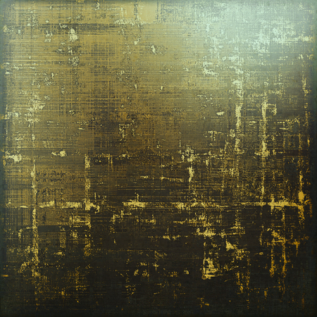 grime: Old style design, textured grunge background with different color patterns: yellow (beige); brown; gray; green; black