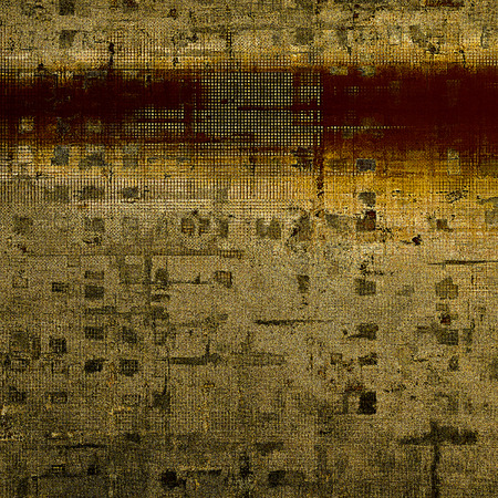 grained: Old style design, textured grunge background with different color patterns: yellow (beige); brown; gray; black
