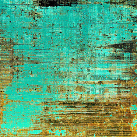 Grunge texture, scratched surface or vintage background. With different color patterns: yellow (beige); brown; blue; cyan