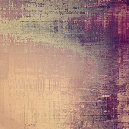 grunge banner: Distressed grunge texture, damaged vintage background with different color patterns: yellow (beige); brown; gray; purple (violet); pink Stock Photo