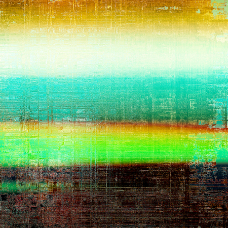 Stylish grunge texture, old damaged background. With different color patterns: yellow (beige); brown; green; blue; red (orange); white Stock Photo