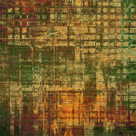 obscure: Shabby texture or background with classy vintage elements. Grunge backdrop with different color patterns: yellow (beige); brown; gray; green; red (orange); purple (violet)