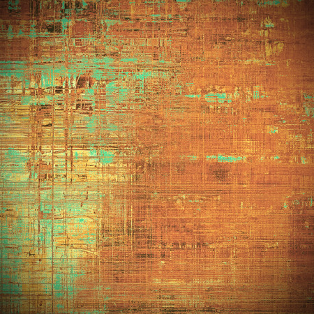 obscure: Retro vintage style elements on aged grunge texture. With different color patterns: yellow (beige); brown; gray; green; red (orange)