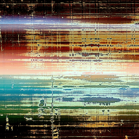 exceptional: Retro background, antique texture for abstract vintage design composition. With different color patterns: yellow (beige); brown; green; blue; red (orange); white