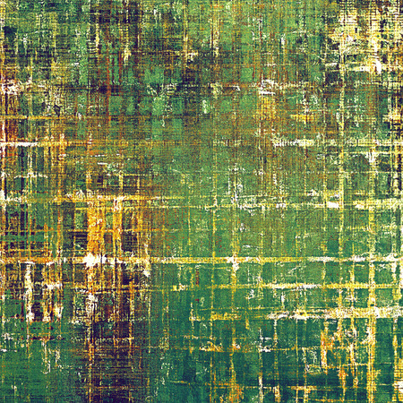 Abstract grunge background or aged texture. Old school backdrop with vintage feeling and different color patterns: yellow (beige); brown; green; purple (violet); white