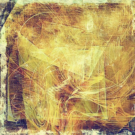 Vintage elegant background, creased grunge backdrop with aged texture and different color patterns: yellow (beige); brown; red (orange); purple (violet); pink