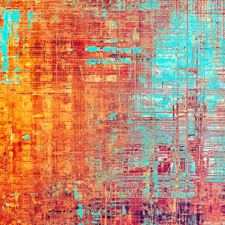 Abstract vintage colored background. With different color patterns: yellow (beige); blue; red (orange); purple (violet); cyan; pink