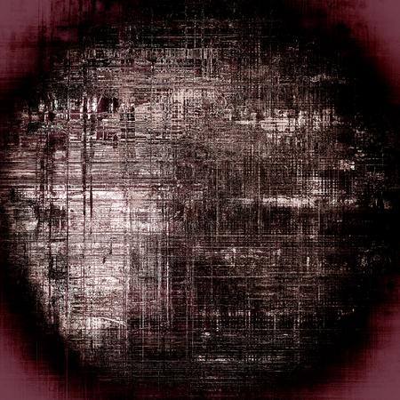 eroded: Spherical rough textured backdrop, abstract vintage background with different color patterns: brown; black; purple (violet); gray; white; pink