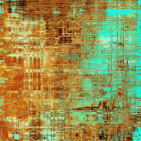 Hi res grunge texture or retro background. With different color patterns: yellow (beige); brown; blue; red (orange); cyan