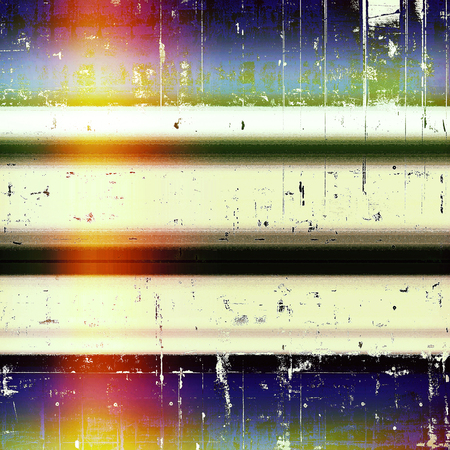 urban decay: Old style design, textured grunge background with different color patterns: black; green; blue; red (orange); purple (violet); white