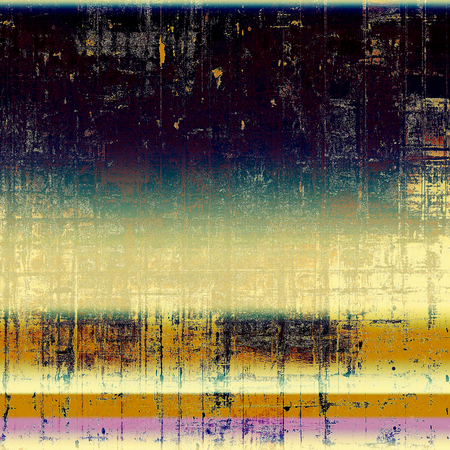 eroded: Cute colorful grunge texture or tinted vintage background with different color patterns: yellow (beige); brown; black; blue; purple (violet); pink Stock Photo