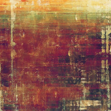 tincture: Grunge texture, aged or old style background with retro design elements and different color patterns: yellow (beige); brown; green; red (orange); purple (violet); pink