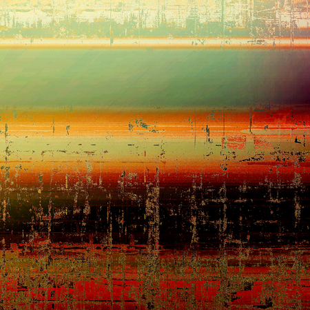 Retro background, antique texture for abstract vintage design composition. With different color patterns: gray; green; red (orange); yellow (beige); brown; black