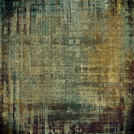 intensity: Elegant vintage background, antique texture. Designed grunge template with different color patterns: gray; green; yellow (beige); brown; cyan; black