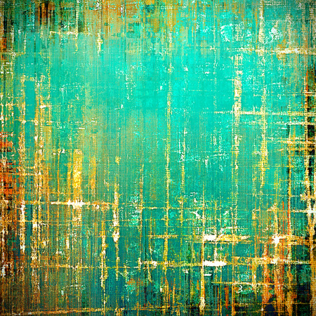 crisscross: Distressed texture, faded grunge background or backdrop. With different color patterns: green; blue; red (orange); yellow (beige); brown; cyan