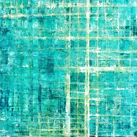 eroded: Grunge abstract textured background, aged backdrop with different color patterns: gray; green; blue; white; cyan Stock Photo