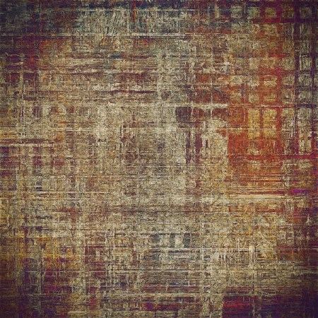 pink and black: Decorative vintage texture or creative grunge background with different color patterns: gray; red (orange); yellow (beige); brown; pink; black Stock Photo