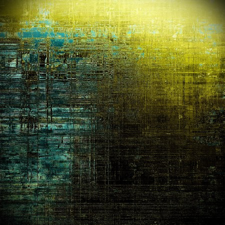 nice looking: Beautiful retro background, nice looking ancient texture with different color patterns: gray; blue; yellow (beige); brown; cyan; black