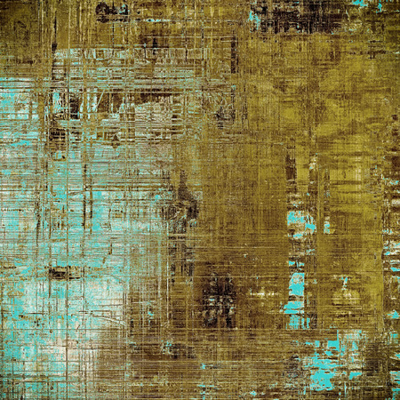 faded: Retro vintage style background or faded texture with different color patterns: gray; blue; yellow (beige); brown; white; cyan