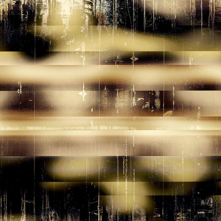school aged: Old school aged texture or background for retro grunge design. With different color patterns: gray; yellow (beige); brown; black