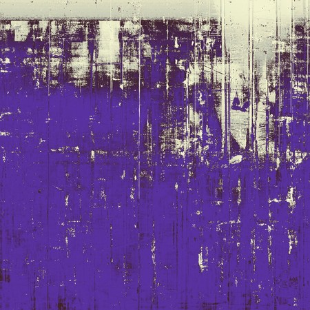 eroded: Oldest vintage background in grunge style. Ancient texture with different color patterns: gray; blue; purple (violet); white; black
